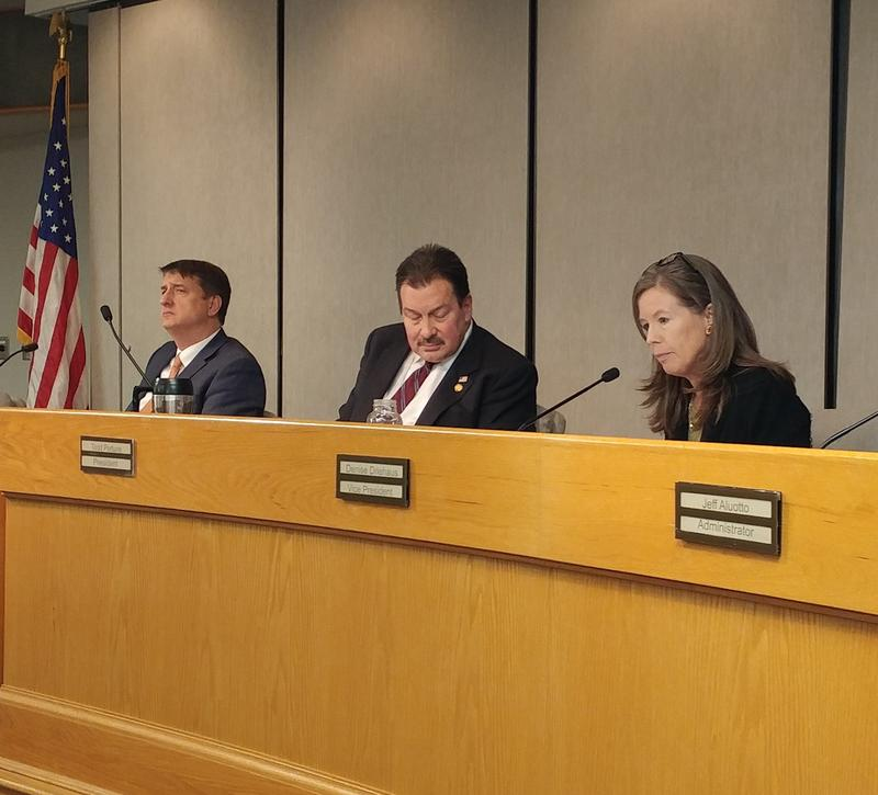 Hamilton County Board of Commission from left: Chris Monzel, Todd Portune, Denise Driehaus.