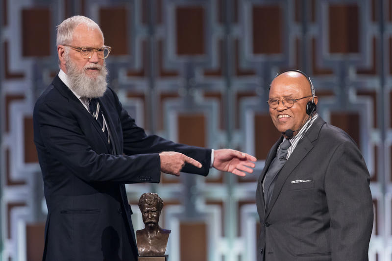 Biff Henderson joins David Letterman on the PBS special Monday, Nov. 20.