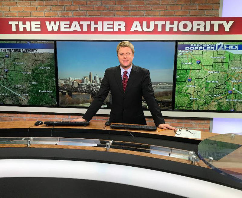 Meteorologist Scott Dimmich has been WKRC-TV's weekend forecaster since November 2011.