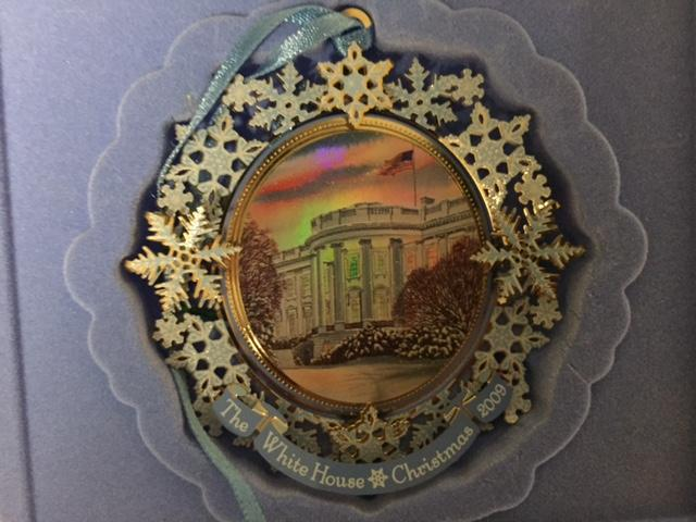 The 2009 White House Christmas Ornament