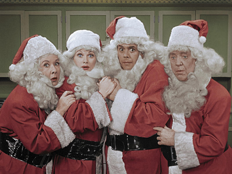 "The 1956 ""I Love Lucy"" Christmas episode airs Friday, Dec. 22, on CBS."