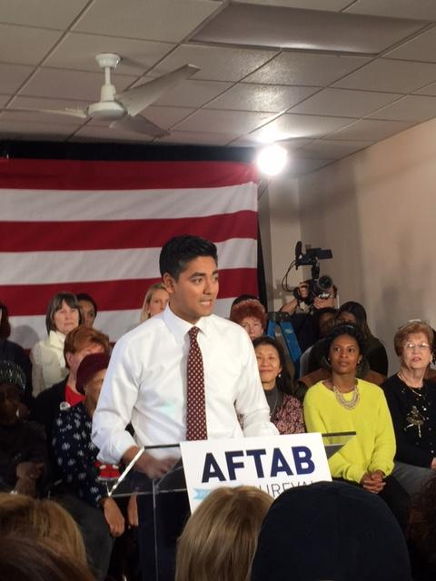 Aftab Pureval announces his candidacy in Avondale