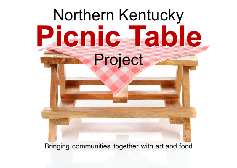 The vision of the NKY Picnic Table Project is a low-cost, high-impact project that will bring the region's communities together with art and food.