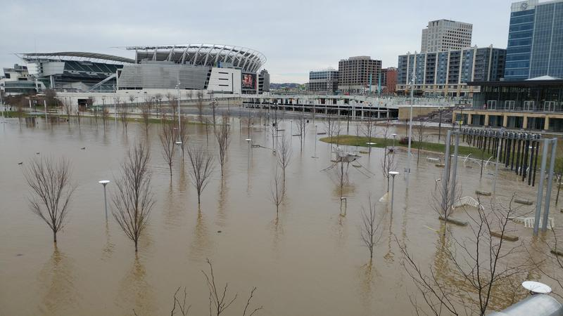 Smale Riverfront Park was designed with flooding in mind.