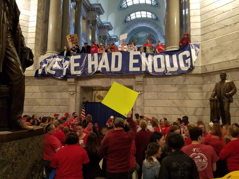 kentucky teacher protest