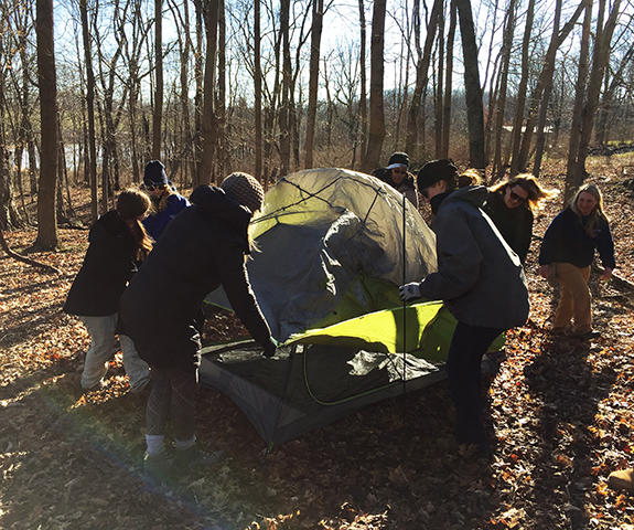 Women can sharpen their outdoor survival skills with a certified female instructor.