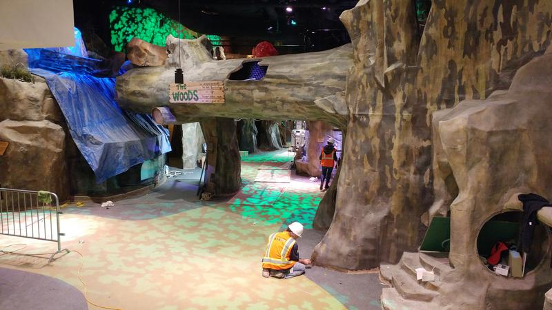 The Woods has received some udpates and will reopen May 4 with the rest of the Children's Museum.