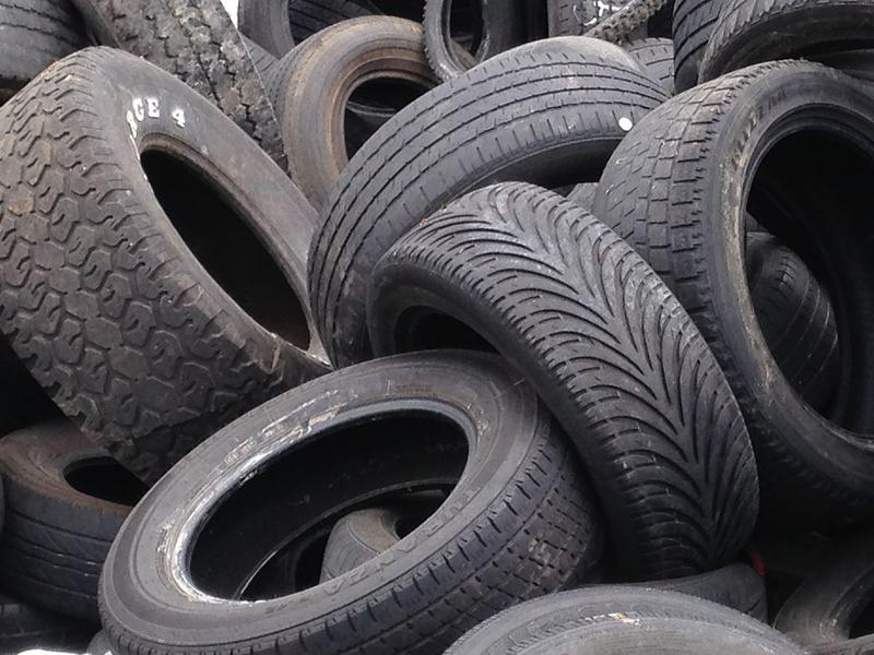Hamilton County says illegally dumped tires is a strain on community budgets and breeds mosquitoes.