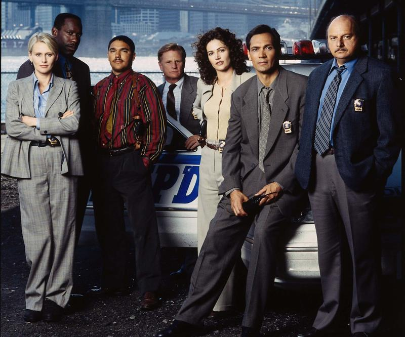 "The 1997-98 ""NYPD Blue"" cast featured Dayton native Andrea Thompson, James McDaniel, Nicholas Tuturro, Kim Delaney, Jimmy Smits and Dennis Franz."