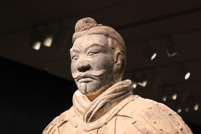 China's first emperor, Qin, had the army created to cover all aspects of life so he could continue his reign in the afterlife.