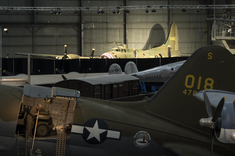 The Boeing B-17F Memphis Belle in the WWII Gallery at the National Museum of the U.S. Air Force. This aircraft will be placed on permanent public display May 17, 2018.