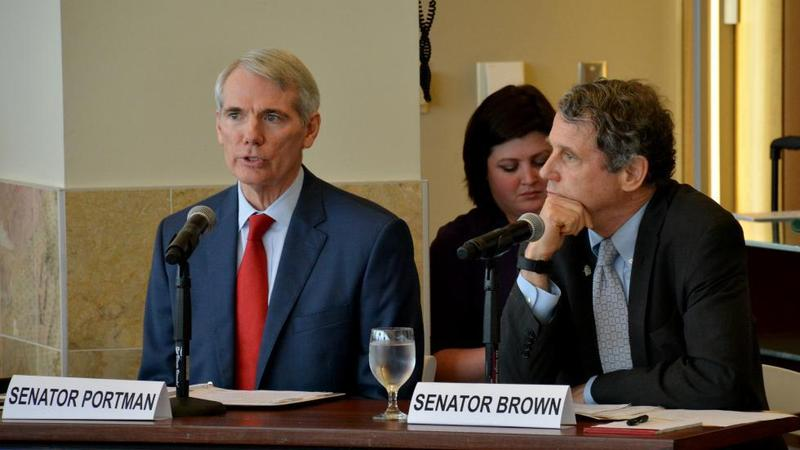 rob portman sherrod brown