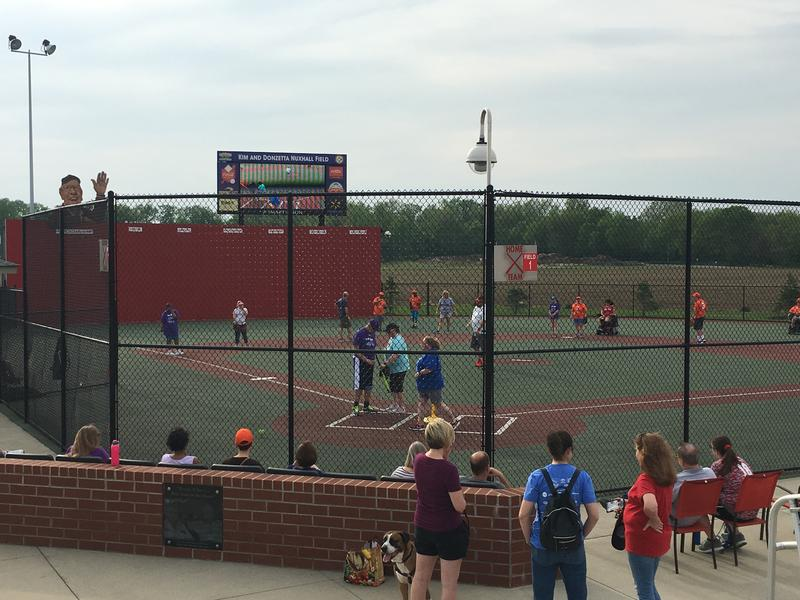 Adults participating in the Miracle League could hardly wait for the start of the season May 11, 2018.