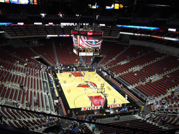 yum center louisville kentucky