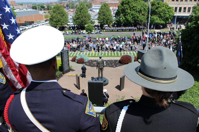 The annual memorial caps Peace Officers Memorial Week.