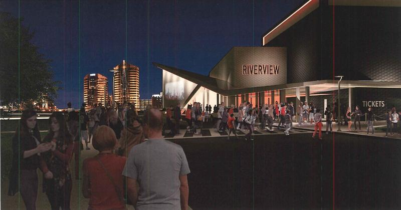 "Artist rendering of ""Riverview"" by CSO/MEMI."