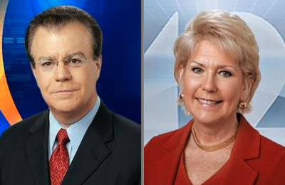 Rob Braun and Cammy Dierking co-host WKRC's evening newscasts