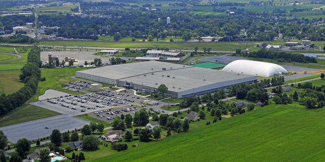 Spooky Nook's facility in Lancaster, PA.