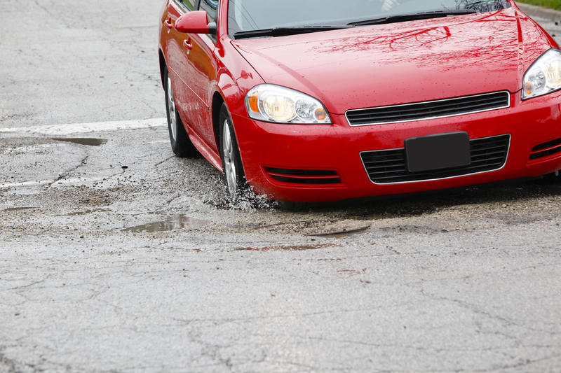 "TRIP says ""25 percent of major locally and state-maintained roads in the Cincinnati urban area are in poor condition and 25 percent are in mediocre condition, costing the average motorist an additional $574 each year in extra vehicle operating costs."""