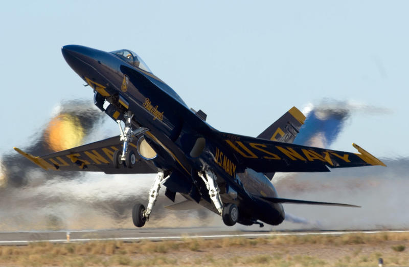 The popular U.S. Navy Blue Angels last performed in Dayton in 2014. A 2016 performance was canceled after a pilot died during a practice flight just weeks before the show.