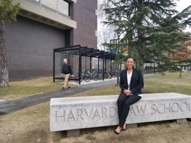 Tyra speaks at Harvard Law School.