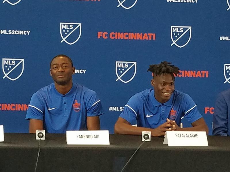FC Cincinnati's newest signings.