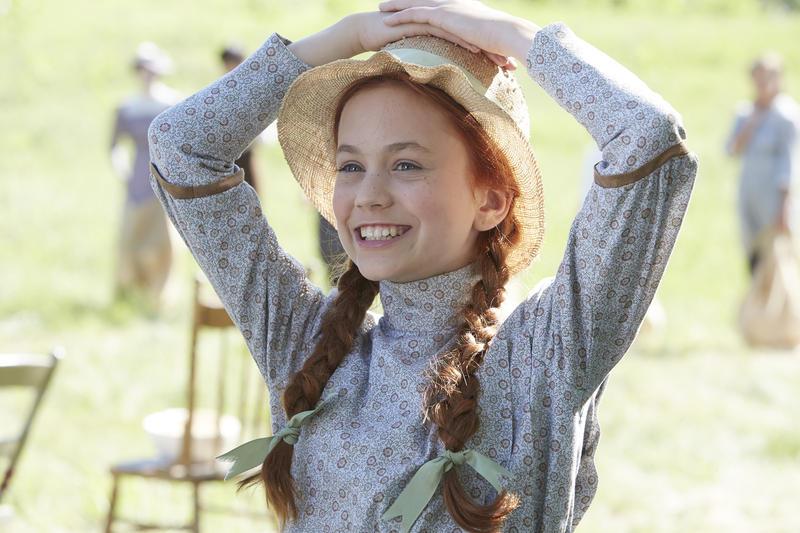"Ella Ballentine stars as Anne Shirley in PBS' ""Anne of Green Gables"" series."