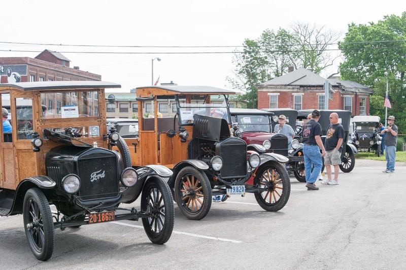More than a hundred Model Ts converge this week in Richmond, Indiana for the 110th anniversary of the historic car.