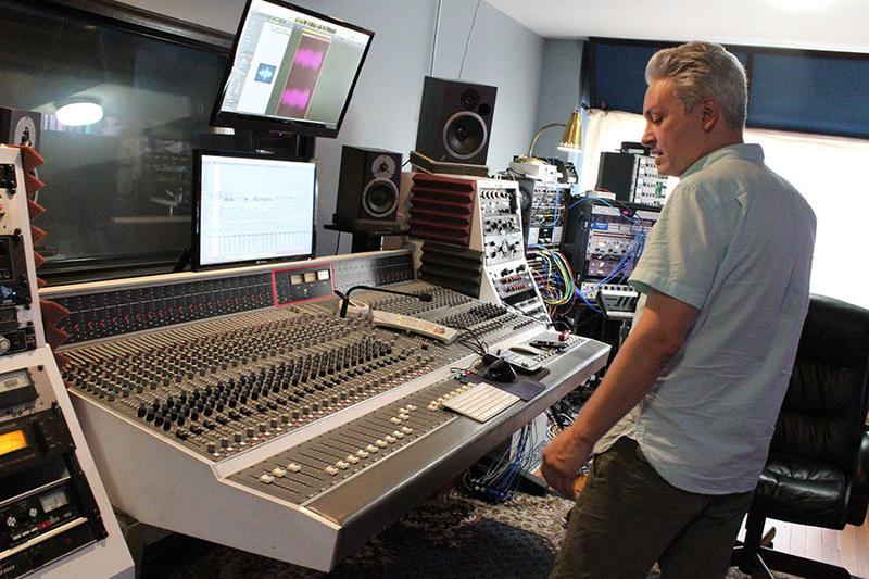 Paul Brumm shows off the recording equipment and discusses mixing a new project by Arlo McKinley & The Lonesome Sound.