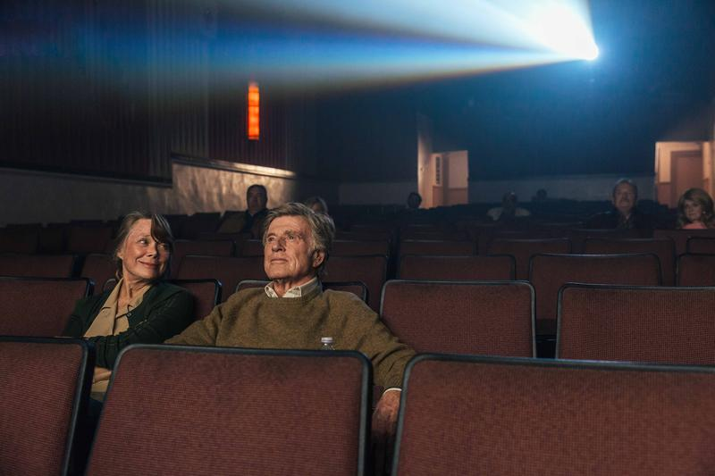 "Oscar-winners Robert Redford and Sissy Spacek star in ""The Old Man And The Gun"" in theaters Sept. 28."