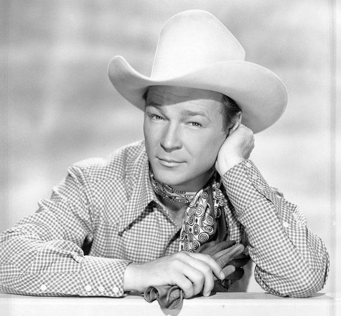 "Roger Rogers in ""Under Nevada Skies"" in 1946."