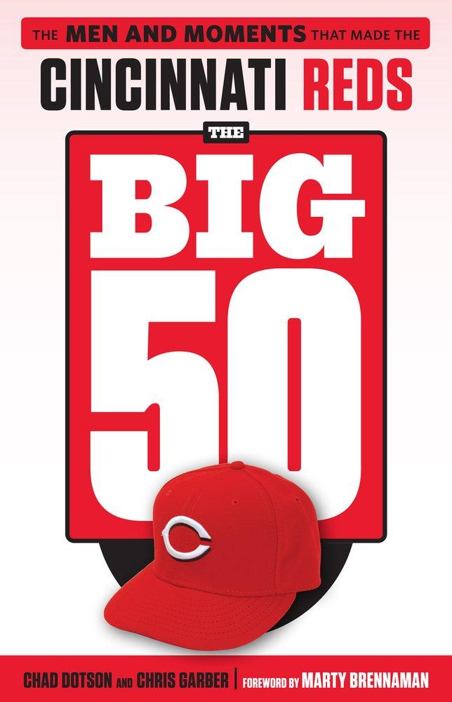"Chad Dotson, co-author of ""Cincinnati Reds: The Big 50,"" spoke with me on ""Around Cincinnati"" earlier this year."