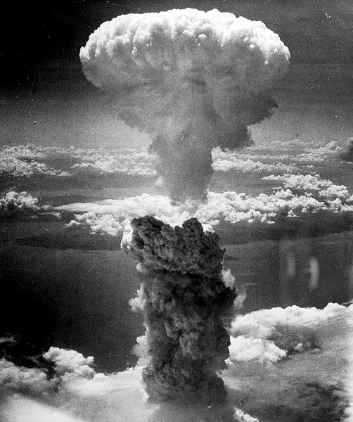 nagasaki atomic cloud