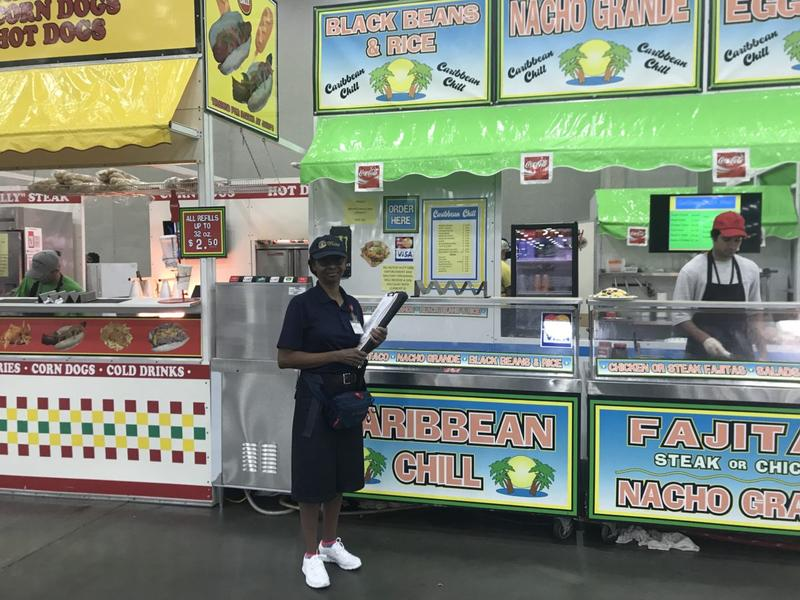 kentucky state fair food inspector