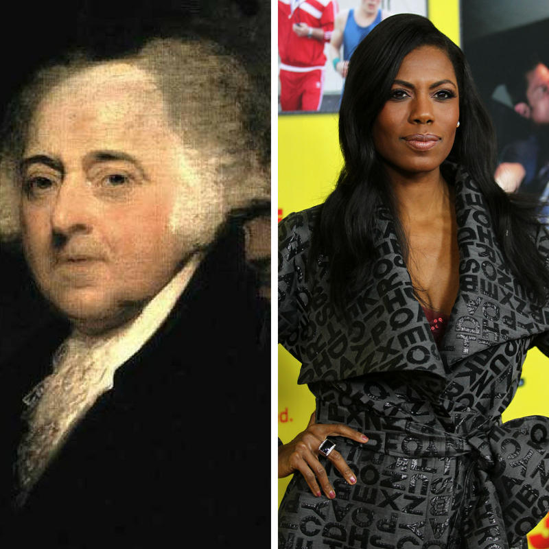 Vice President John Adams and former Trump White House aide Omarosa Manigault-Newman were both topics during Vice President Mike Pence's recent visit to Cincinnati.
