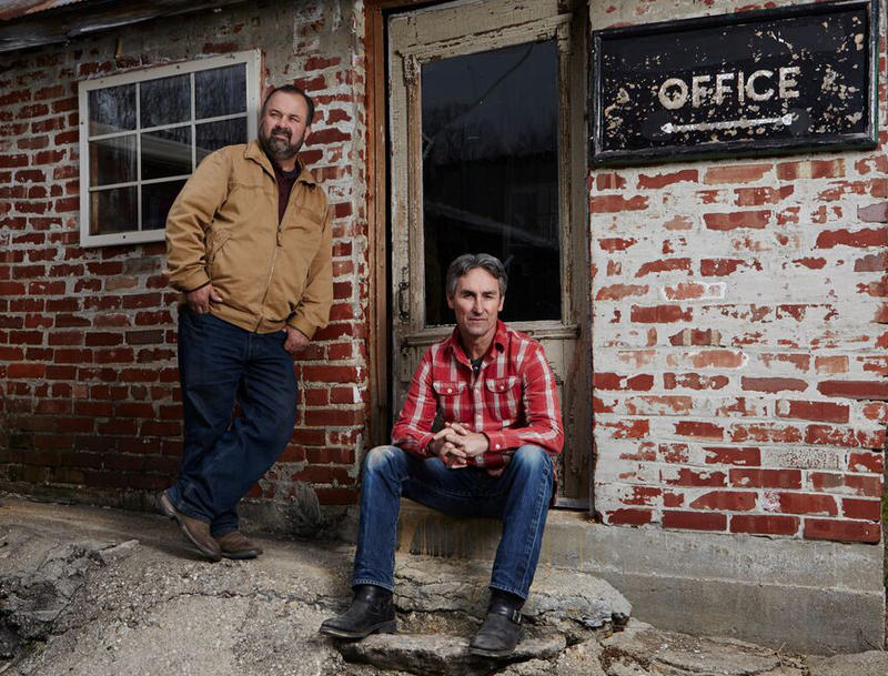 'American Pickers' hosts Frank Fitz (left) and Mike Wolfe.