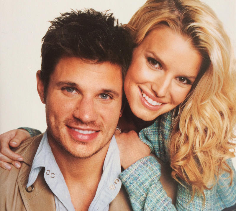 "Nick Lachey and Jessica Simpson starred in the 2003 MTV reality show, ""Newlyweds: Nick & Jessica."""