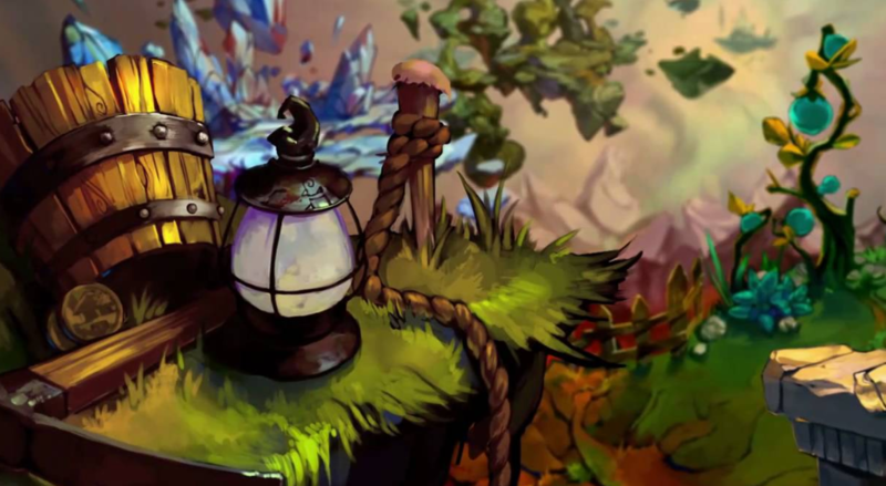"Music scored for the game Bastion is described as ""an acoustic frontier trip-hop."""