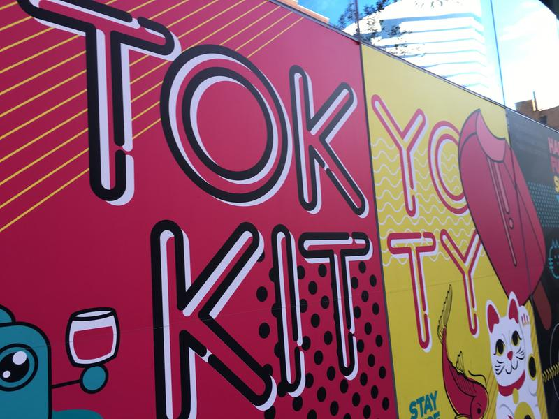 Tokyo Kitty has a unique way of delivering drinks to its customers.