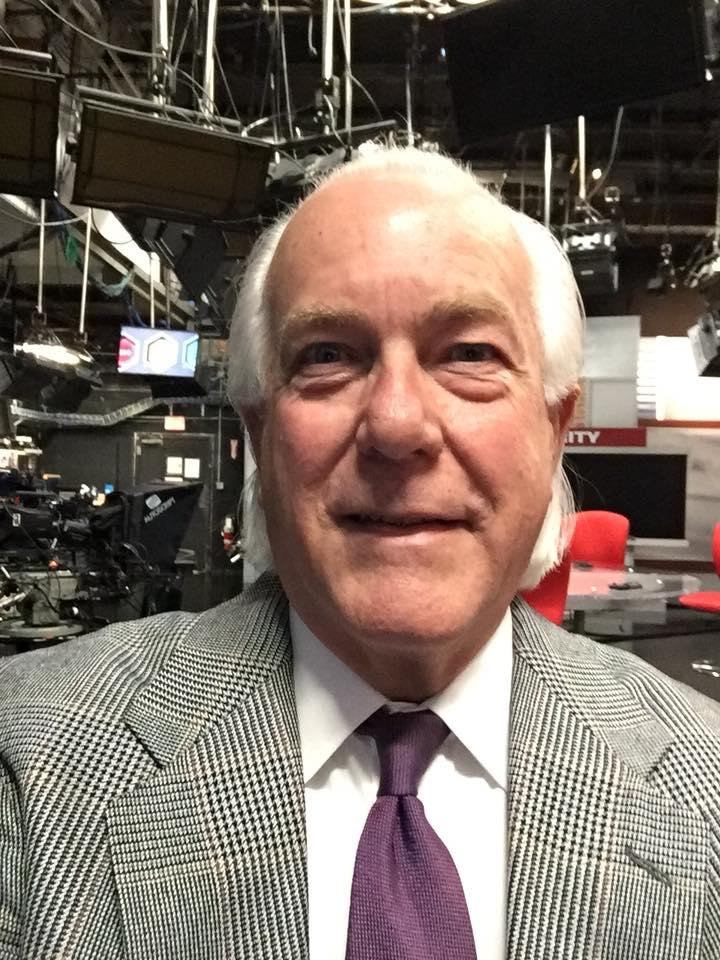 Joe Webb in WKRC-TV's newsroom on Monday.