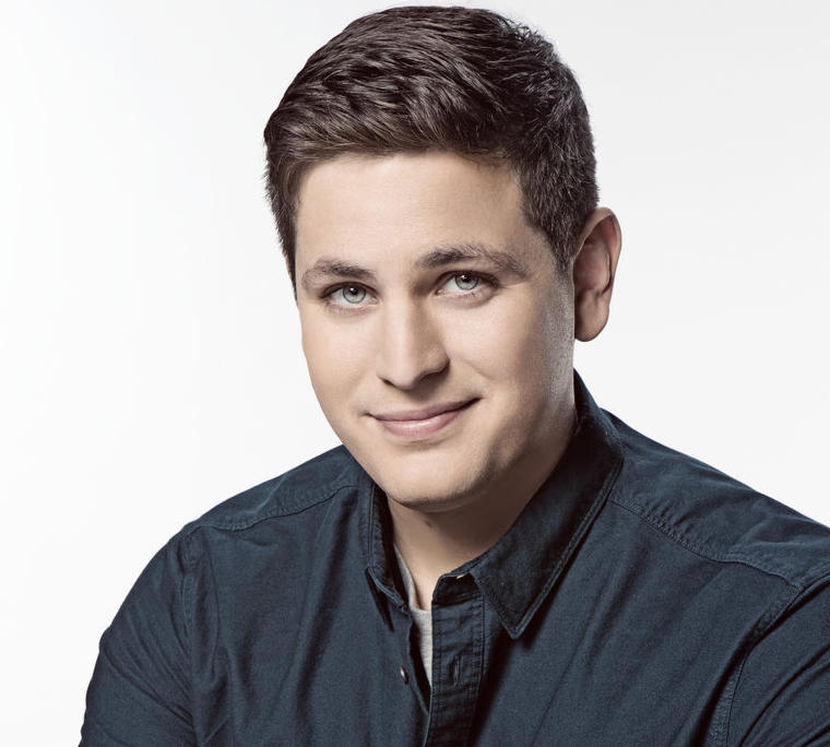 "NBC's publicity photo of Luke Null when he was added to ""Saturday Night Live"" cast last September."