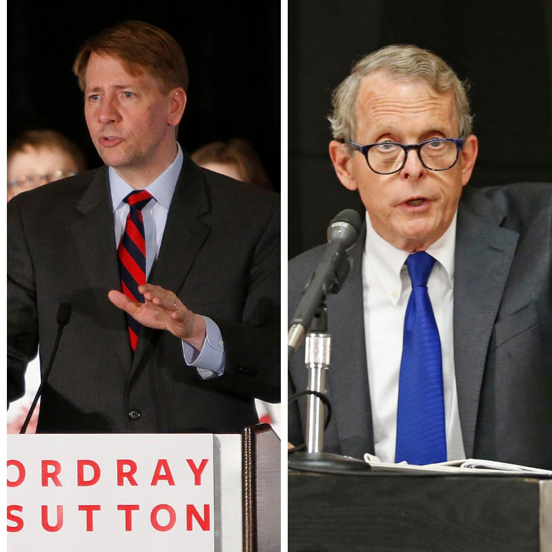 richard cordray mike dewine dayton debate