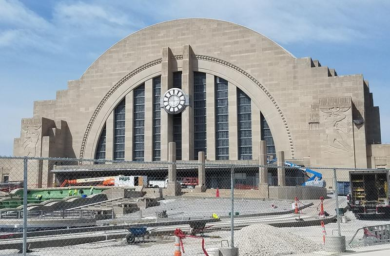 The Verdin Company is scheduled to reinstall Union Terminal's Art Deco clock this week.