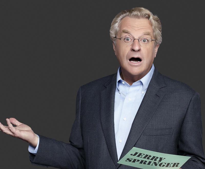"""""""Jerry Springer Show"""" 2014 publicity photo"""