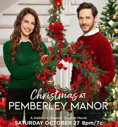 Jessica Lowndes and Michael Rady star in the Hallmark Channel's first 'Countdown to Christmas' movie airing Saturday, Oct. 27.