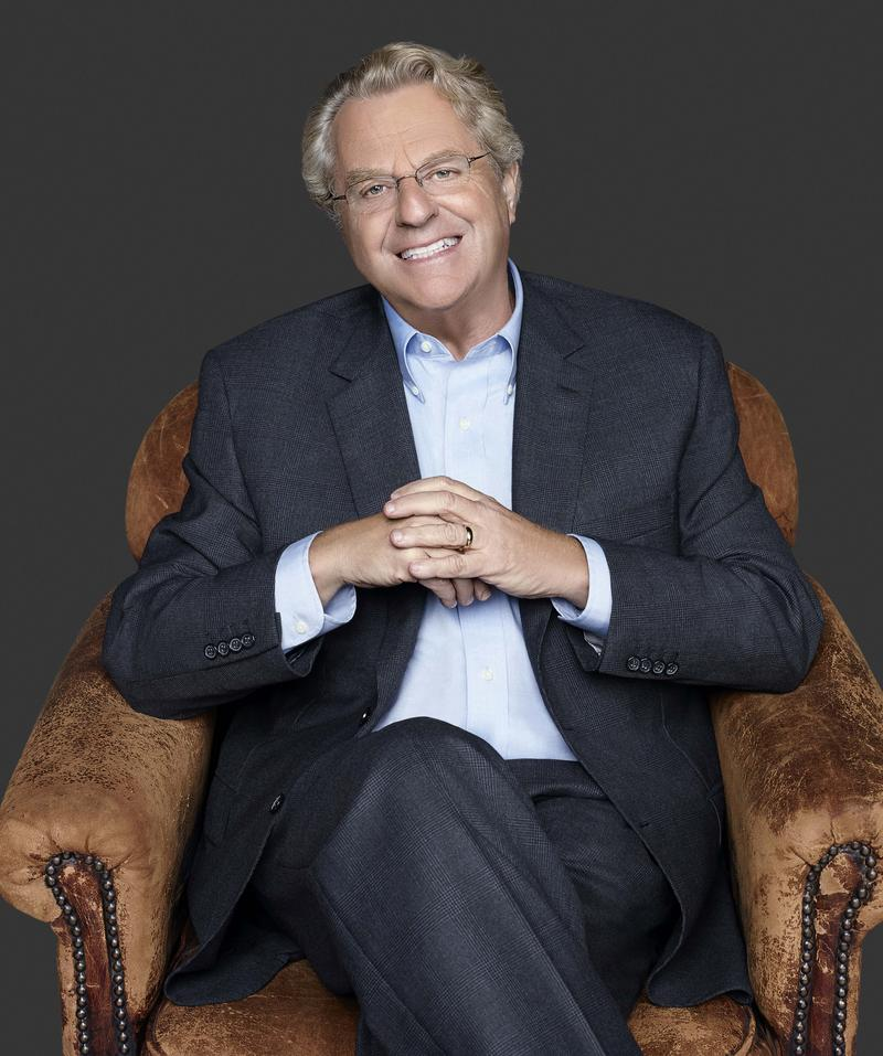 "Promotional photo for 2017-18 ""Jerry Springer"" talk show."