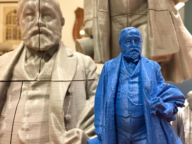 These models of Benjamin Harrison, the nation's 23rd president, are available to print from the Presidential Site's collection.