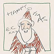 "Eric Clapton's ""Happy Xmas"" cd cover"