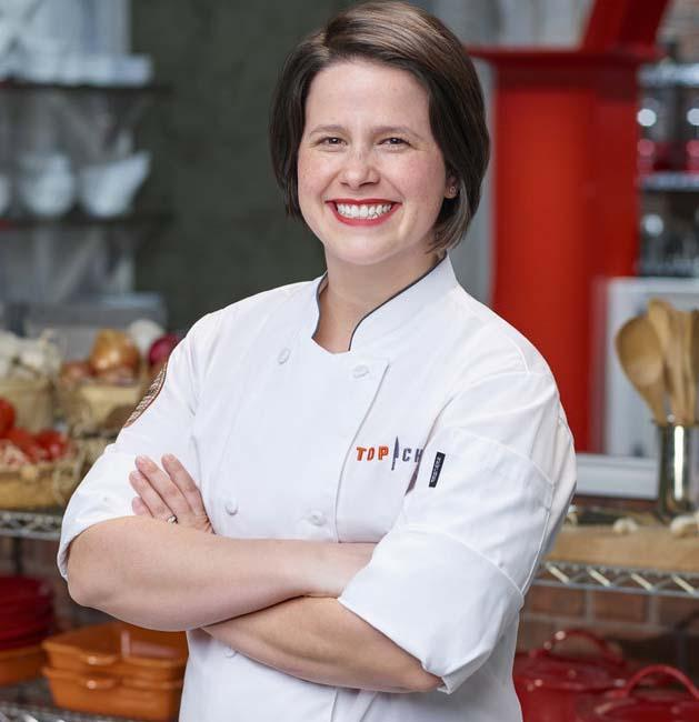 """Caitlin Steininger """"Top Chef"""" promotional photo."""