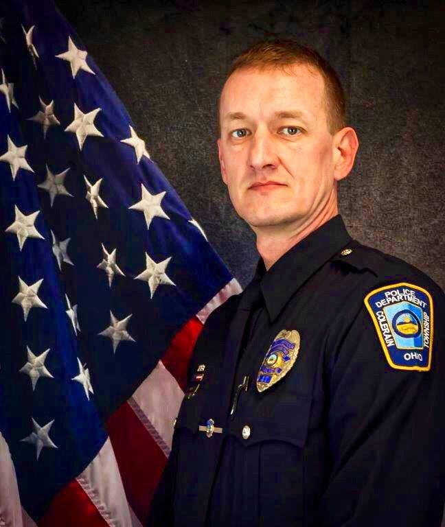 Colerain Officer Dale Woods was remembered during a public funeral service Jan. 14, 2019 at the Cintas Center